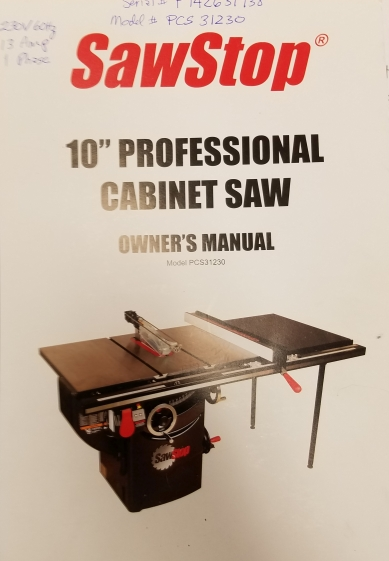table saw OM